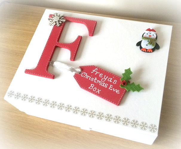 Christmas eve box my st handmade