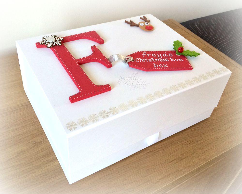 Christmas eve box my 1st christmas box handmade for Christmas eve food ideas uk
