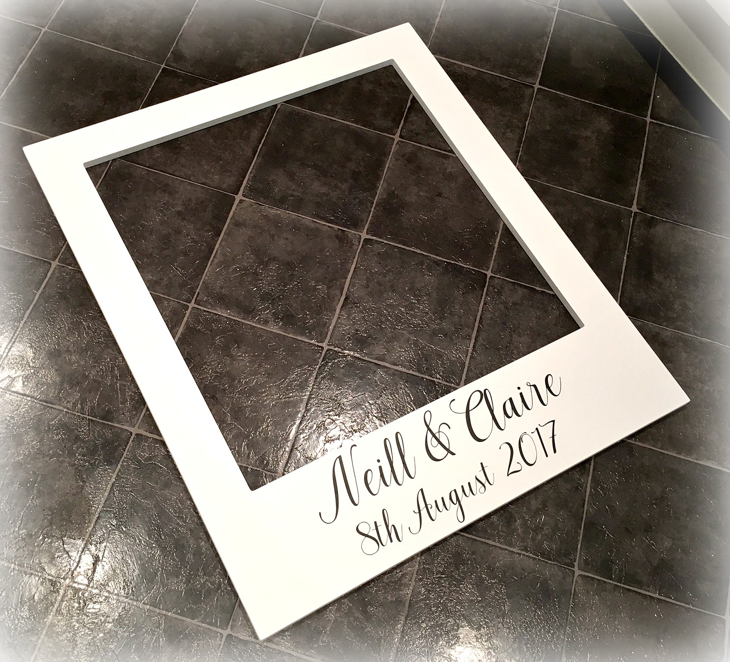 Extra Large Polaroid Frame | Photo Booth Frame | Wedding Frame ...