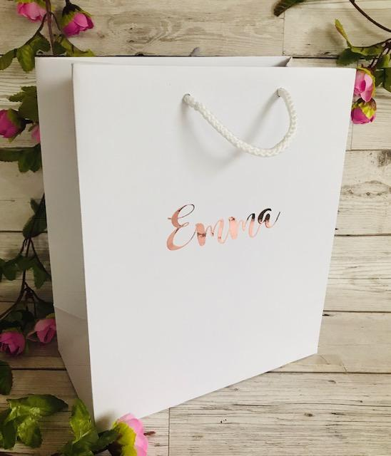 Medium Personalised Luxury Gift Bag